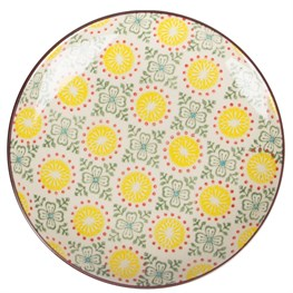Yellow Zahara Plate