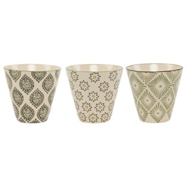 Mini Ria Planters - Set of 3