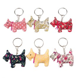 Scotch Scottie Keyring