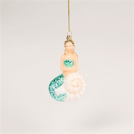 Mermaid & Shell Shaped Bauble