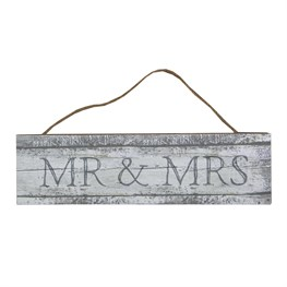 Coastal Chic Mr & Mrs Hanging Sign