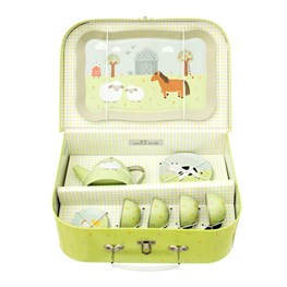 Farmyard Friends Kid's Tea Set