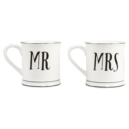 Mr & Mrs Mug  (options available)