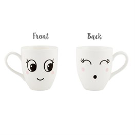 Blushing Fun Face Mug