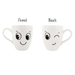 Winking Fun Face Mug