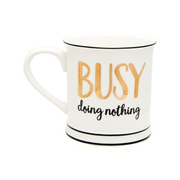 Busy Doing Nothing Mug
