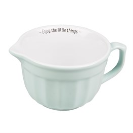 Retro Pastel Mixing Bowl Green Medium