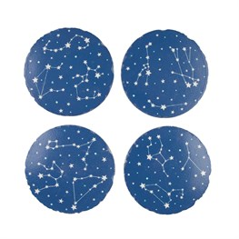 Set of 4 Star Constellations Coasters