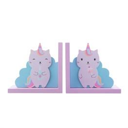 Luna Caticorn Bookends