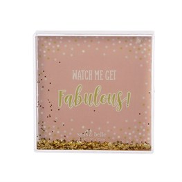 Fabulous Glitter Photo Block