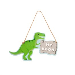 Roarsome Dinosaurs My Room Hanging Plaque