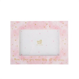 Scattered Stars Mum Love You More Photo Frame
