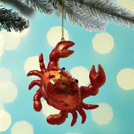 Cooper Crab Shaped Bauble