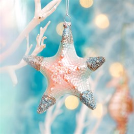 Wonderland Starfish Shaped Bauble