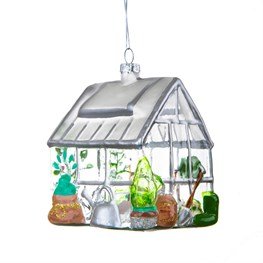 Greenhouse Shaped Bauble