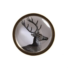 Stag Head Drawer Knob