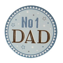 No 1 Dad Coaster