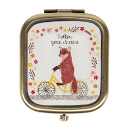 Follow Your Dreams Fox on  Bike Compact Mirror