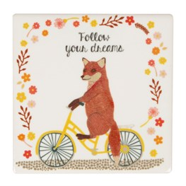 Follow Your Dreams Fox on  Bike Coaster