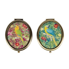 Parrot Paradise Compact Mirror  (options available)