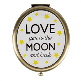Love You to the Moon & Back Compact Mirror