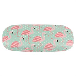 Tropical Flamingo Glasses Case