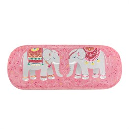 Mandala Elephant Glasses Case