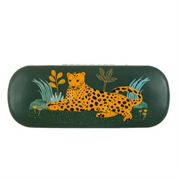 Leopard Love Glasses Case