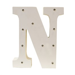 Alphabet LED Light Decoration Letter N