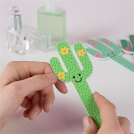 Colourful Cactus Nail File
