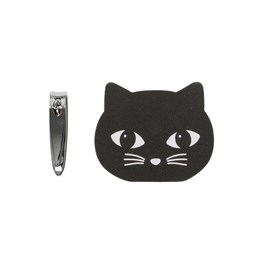 Black Cat Nail Buffer & Clippers