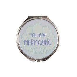 Mermaid Treasures Compact Mirror