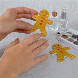 Gingerbread Man Nail File