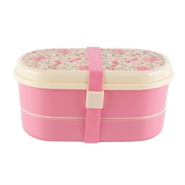 Vintage Floral Roses Bento Lunch Box
