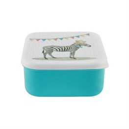 Zebra Square Lunch Box