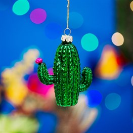 Bloom & Blossom Cactus Shaped Bauble