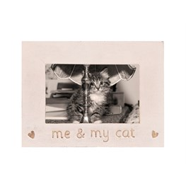Me My Cat Photo Frame