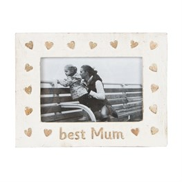 Best Mum Country Charm Photo Frame