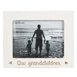 Our Granchildren Country Charm Photo Frame