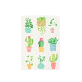 Pastel Cactus Pocket Notebook
