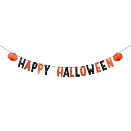 Happy Halloween Paper Bunting Decoration