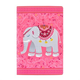 Mandala Elephant A5 Notebook