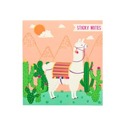 Lima Llama Sticky Notes