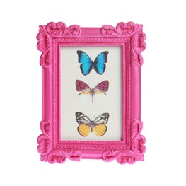 Classic Rectangle Photo Frame Pink