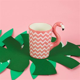 Ziggy Flamingo Mug