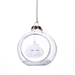 Sweet Dreams Floating Cloud Open Bauble