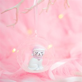 Cutie Cat Open Bauble