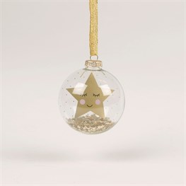 Merry Christmas Sweet Dreams Star Bauble