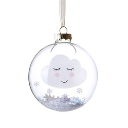 Snowy Sweet Dreams Cloud Bauble