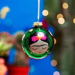 Frida Floral Bauble